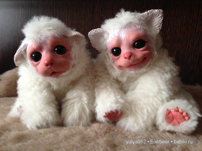 Зайка и Бали ООАК. Авторские игрушки