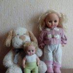 Куклы фабрики Весна лотом