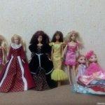 Разные куклы лотом