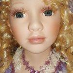 Шикарная кукла для интерьера или вашей коллекции