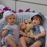 Joan Blackwood - малыши Alex и Carina