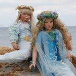 Здравствуй небо, море, облака....  Meerjungfrau of Pamela Erff, Aqua of Shirley