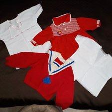 Винтажная одежда для крупных куклодеток
