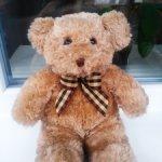 Мишка в отличном состоянии, брэнд  RUSS BERRIE TEDDY BEAR, Англия. Скидка