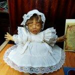 Нежная редкая сплюшка, девочка от D'anton jos. Каталог и документы.