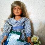 Фарфоровая куколка, нежная Катарина (Catharina) от автора Pamela Erff.