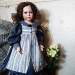 Фарфоровая красивая кукла, барышня от English Rose.