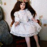 Фарфоровая куколка, изящная аристократочка от Hildegard Gunzel