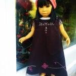 Красивые платья для кукол 55-60 см. Подходит на La Bambola, D'anton Jos, и прочих.'