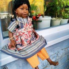 Ещё одна негритянка от D'anton Jos, редкая гостья шопика, Whitney, Уитни. Шок цена на 3 дня!