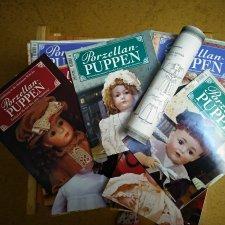 Журналы о куклах, Германия, много. Листы с выкройками.