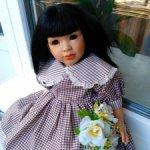 Редкая красавица, прекрасная  азиаточка от La Bambola, Испания.