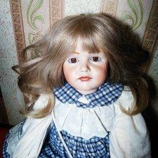 Реплика антикварной куколки от германской компании K&R, 114, Gretchen, Гретхен. Ещё одна))