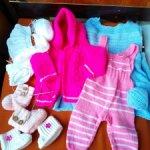 Лот одежды на кукол-деток, реборн, и прочих.)