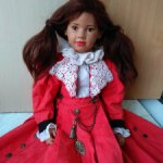 Коллекционная кукла, красавица от Ilse Wippler, Sigikid