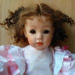 Замечательная трогательная кареглазая девочка, малышка от Elizabeth Lindtner, молд Lison