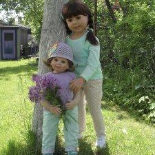 Подмосковная весна или выходные в деревне. Trixi от Monika Levenig и Millie от Monika Peter-Leicht