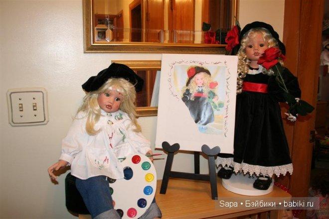 Куклы художницы