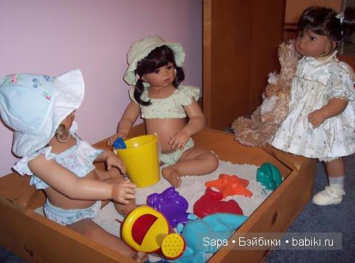 Песочница для кукол