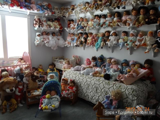 Открытые полки для кукол