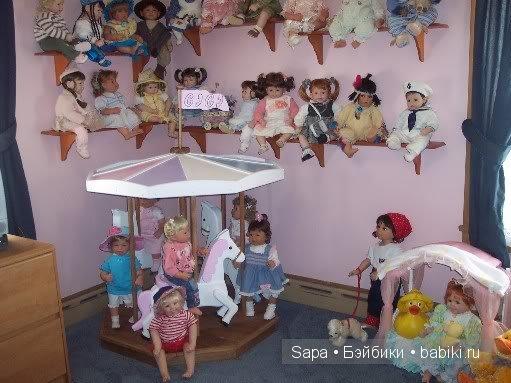Карусель для кукол
