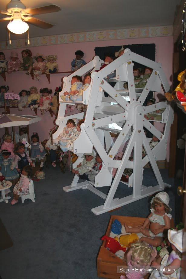 Колесо обозрения для кукол