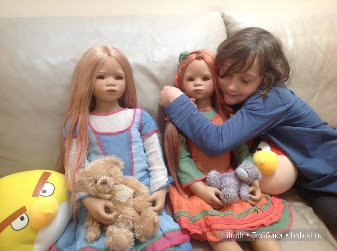 Куклы Annette Himstedt - Lilith и Malivi