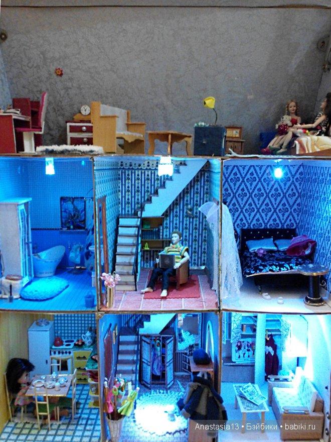 кукольный дом общий вид