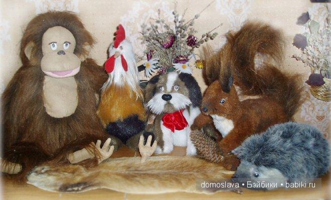 Текстильные куклы Ирины Поцелуйко: с чего все начиналось