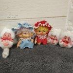 Котята Nyamy 5см и  Monchhichi 6см . Отличные друзья для ваших куколок