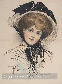 Грейс Джебби (Grace Gebbie Wiederseim). Бумажные куклы Долли Дингл (Dolly Dingle dolls)