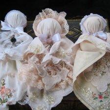 "Куклы из носовых платков - ""церковные куклы"""