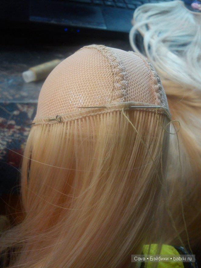 Сделать парик из волос своими руками