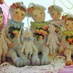 Мои авторские куклы тедди долл, девочки-овечки