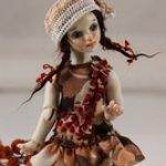 Маленькие фарфоровые куклы ростом 10,5 см