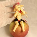 Шарнирная кукла Зайка