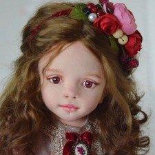 Текстильные куклы Елены Воробец