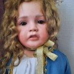 Авторская шарнирная кукла Руженцевой Ольги.