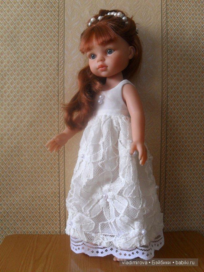 Коллекция платьев для куколки Настя от Paola Reina