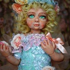 Веснушка. Авторская кукла Натальи Михаелян