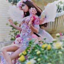 Розовые сны. Авторская кукла Натальи Михаелян