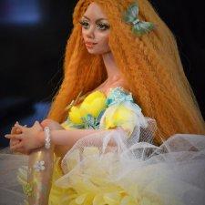 Лето, авторская кукла Натальи Михаелян
