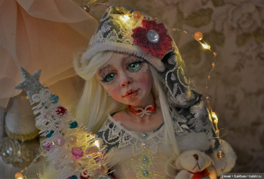 авторская кукла Натальи Михаелян, полимерная глина, Mikhaelian