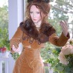 Моя Анна Каренина. Авторская фарфоровая кукла Лили от Ангелы и Джона Баркер