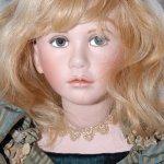 Kукла из фарфора Clare, от Angela & John Barker