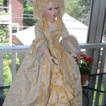 Часть 2: Прекрасная Дама эпохи Рококо. Кукла из фарфора Мишель Баркер
