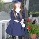 Обворожительная фарфоровая кукла Джульет от мастеров Анжелы и Джона Баркер