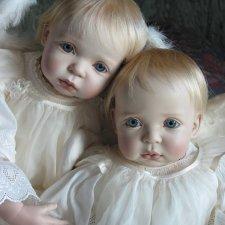 Процесс создания фарфоровых кукол - Джинн Гросс (Jeanne Gross). Часть первая - младенцы