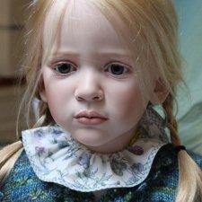 Процесс создания фарфоровых кукол - Джинн Гросс (Jeanne Gross). Часть вторая - Анна, Вилли, Александр и другие