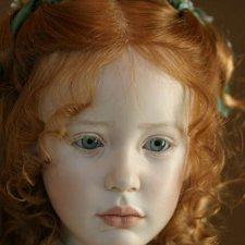 Процесс создания фарфоровых кукол - Джинн Гросс (Jeanne Gross). Часть третья: Стефани (Stephanie). Вишенка на торте